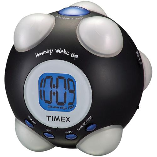 Timex T156as Shake 'n Wake Alarm Clock (t156bx)