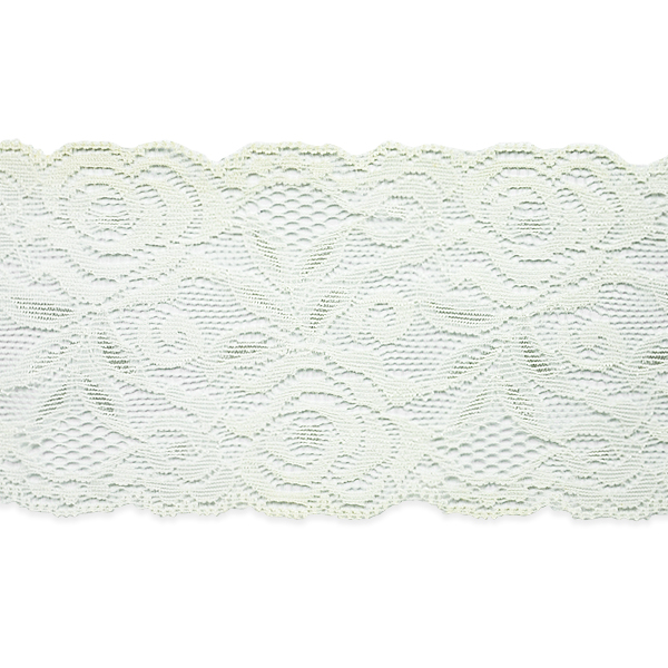 """Expo Int'l 5 yards of Angela 3"""" Stretchable Polyester Chantilly Lace Trim"""