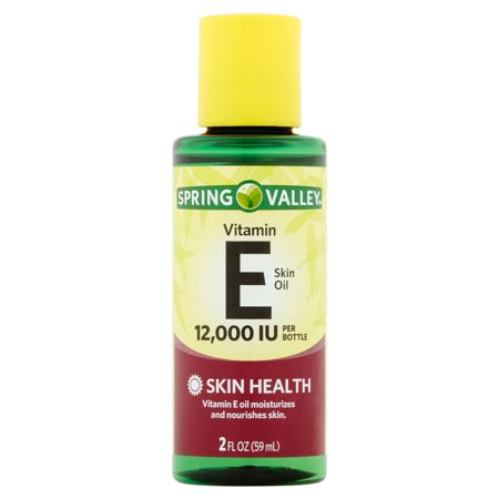 Spring Valley Vitamin E Skin Health Moisturizer, 12000 IU, 2 Oz