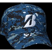 Bridgestone Golf Digital Camouflage Cap Navy