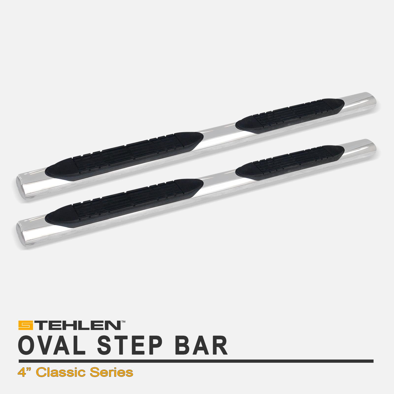 Stainless Steel For 2002-2006 Honda CRV CR-V Stehlen 733469495635 4 Oval Side Step Nerf Bars