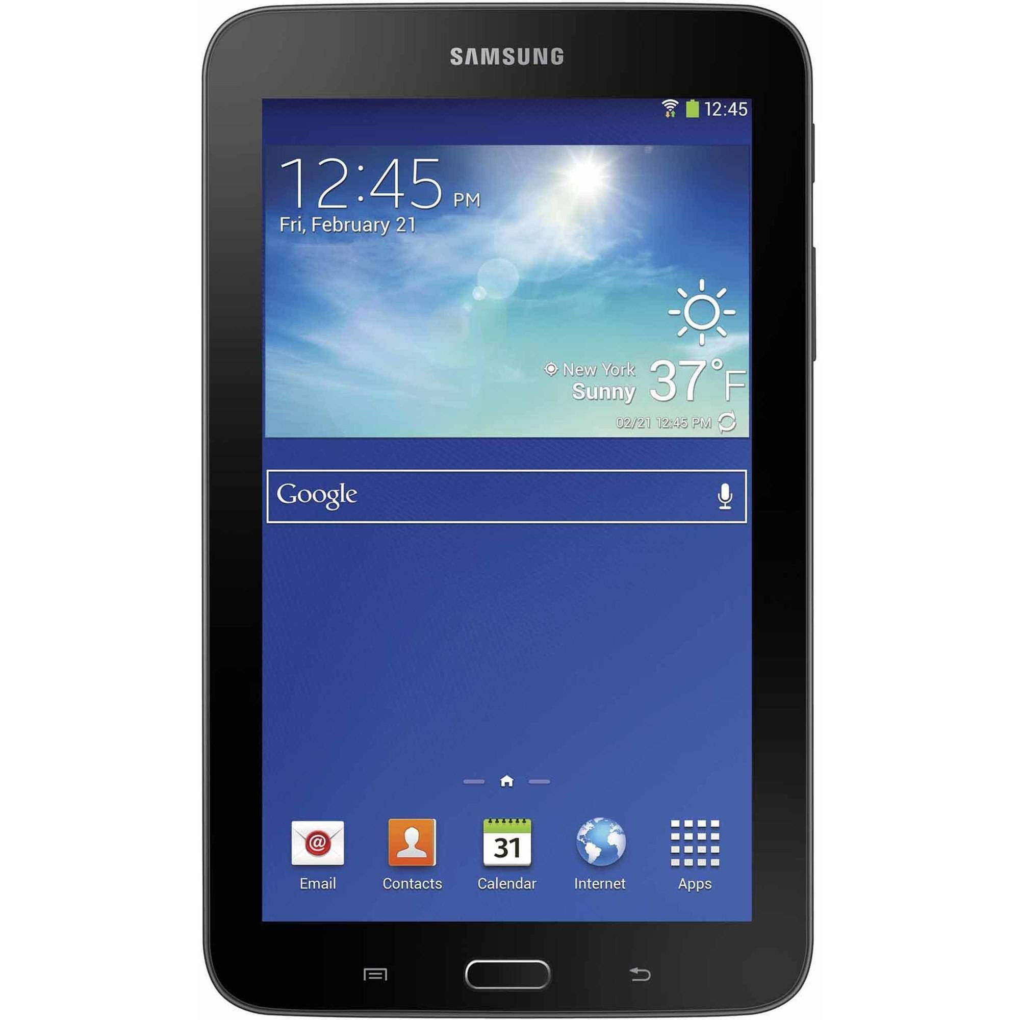 "Refurbished Samsung Galaxy Tab 3 Lite with WiFi 7"" Touchscreen Tablet PC Featuring Android 4.2 (Jelly Bean) Operating System"