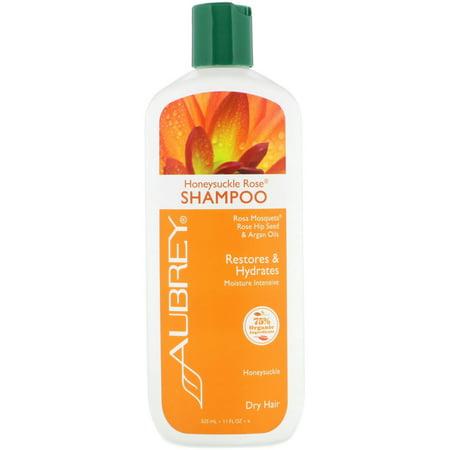 Honeysuckle Rose Shampoo by Aubre Organics - 11 Fluid Ounces