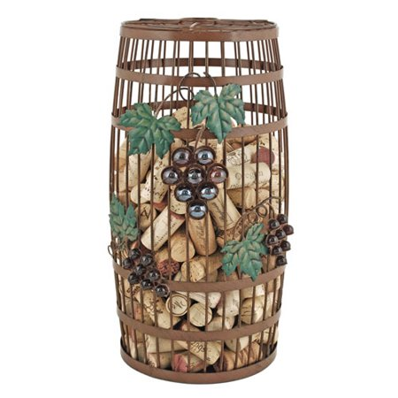 Wine Cork Storage - Twine Grapevine: Barrel Cork Holder