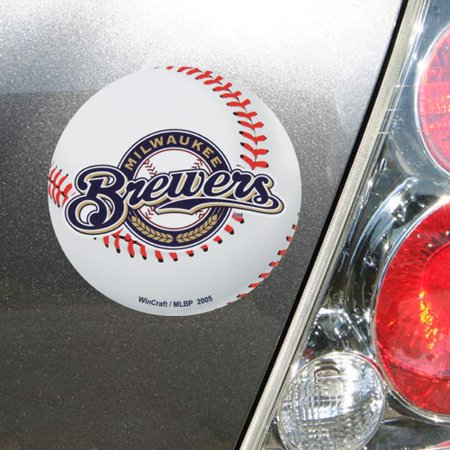 "Milwaukee Brewers WinCraft 5"" Logo Die-Cut Car Magnet - No Size"