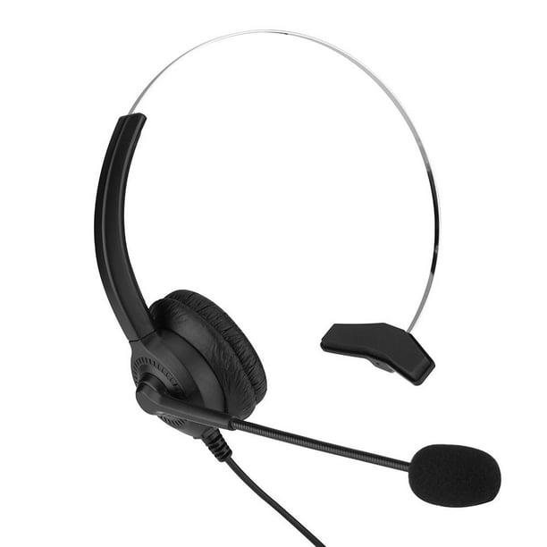 Faginey Noise Cancelling Call Center Headset Comfortable Wearing Lossless Sound Telephone Headset Cordless Phone Headset 2 5mm Call Center Headset Walmart Com Walmart Com