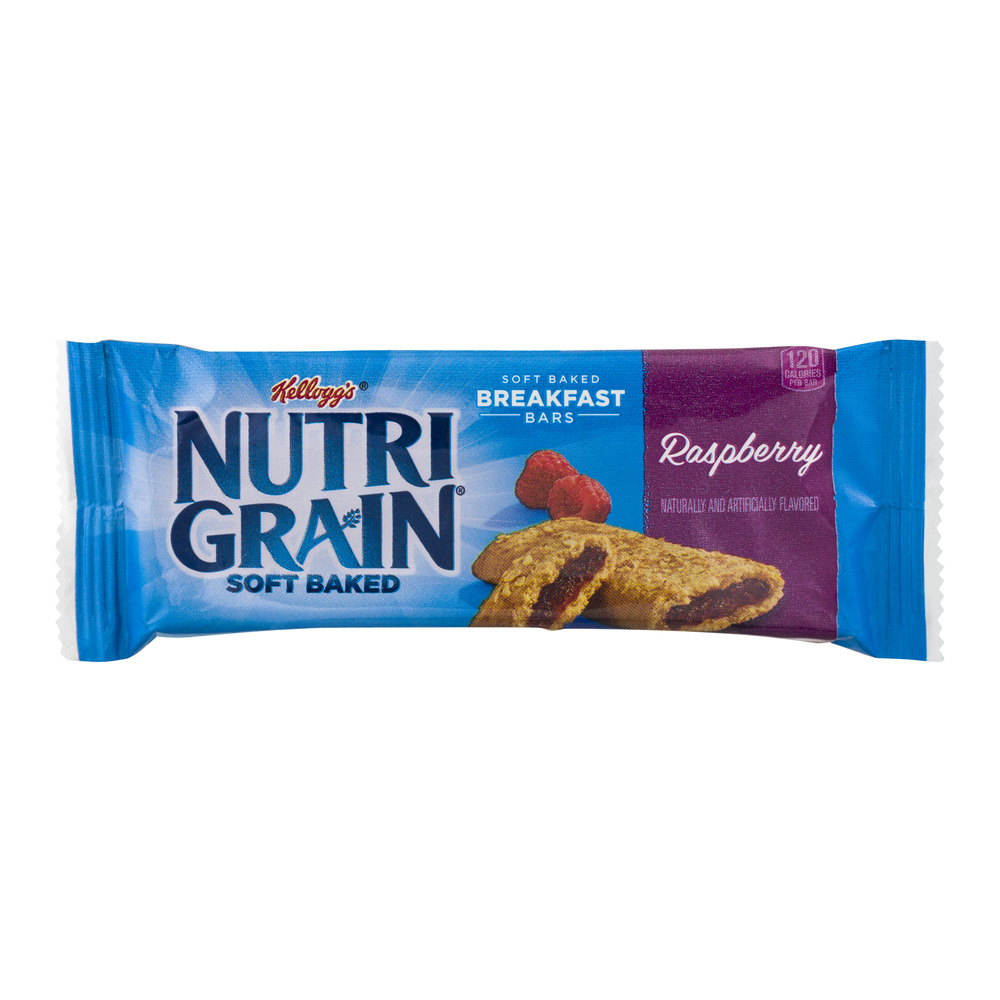 Kellogg's Nutri Grain Soft Baked Breakfast Bars Raspberry...