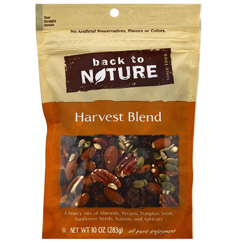 Back to Nature Harvest Blend Trail Mix, 10 oz, (Pack of 9)