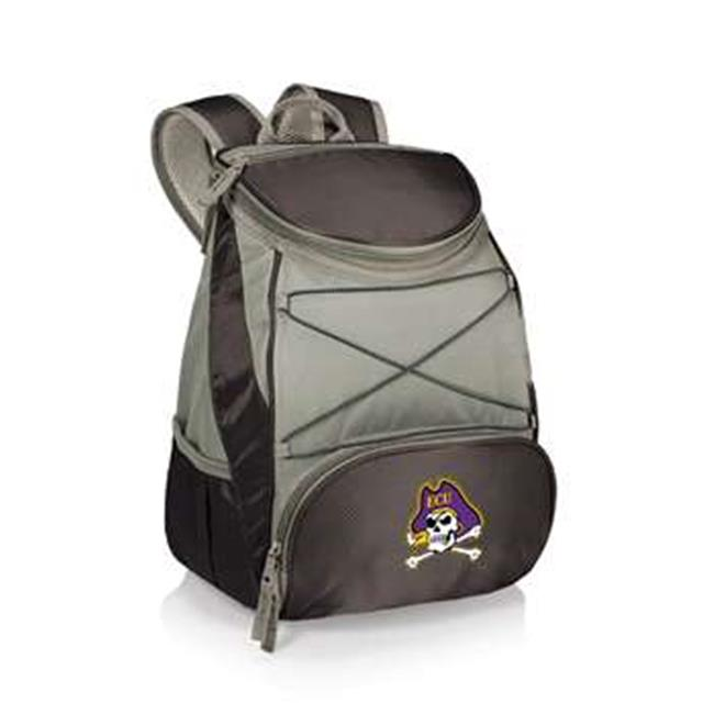 Picnic Time 633-00-175-874-0 East Carolina Pirates Digital Print Backpack Cooler Tote Bag, Black - image 1 de 1