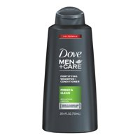 Dove Men+Care 2 in 1 Shampoo and Conditioner Fresh and Clean 20.4 oz