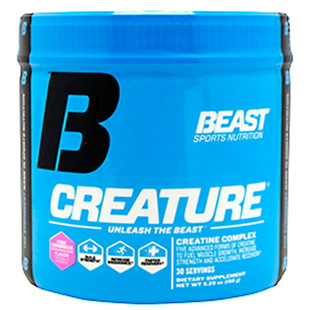 Beast Sports Nutrition Creature, Pink Lemonade, 30- 5g (Sports Nutrition Top)