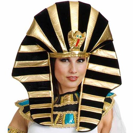 Ancient Egyptian Headpiece Adult Halloween Accessory - Pharaoh Headpiece