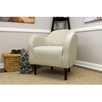 Fox Hill Julian Mid-Century Accent Chair, Multiple Colors