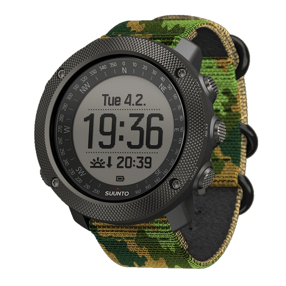 Suunto Traverse Alpha Stealth Watch, Woodland by Suunto