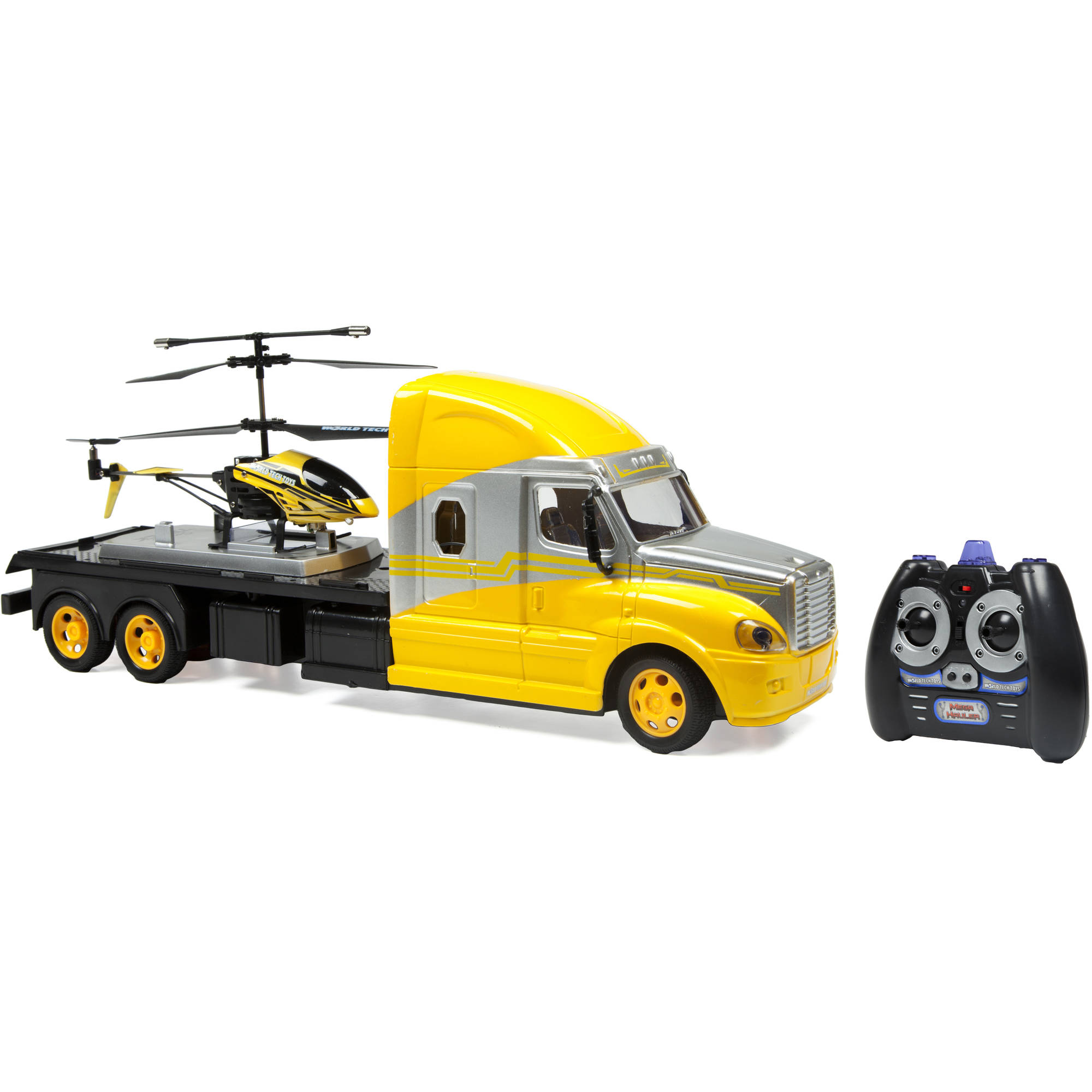 MegaHauler 3.5CH Helicopter and Electric RC Truck IR Combo Pack by World Tech Toys
