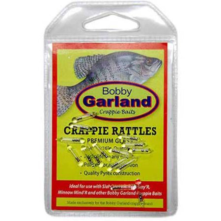 Bobby Garland Crappie Rattles, 15-Count