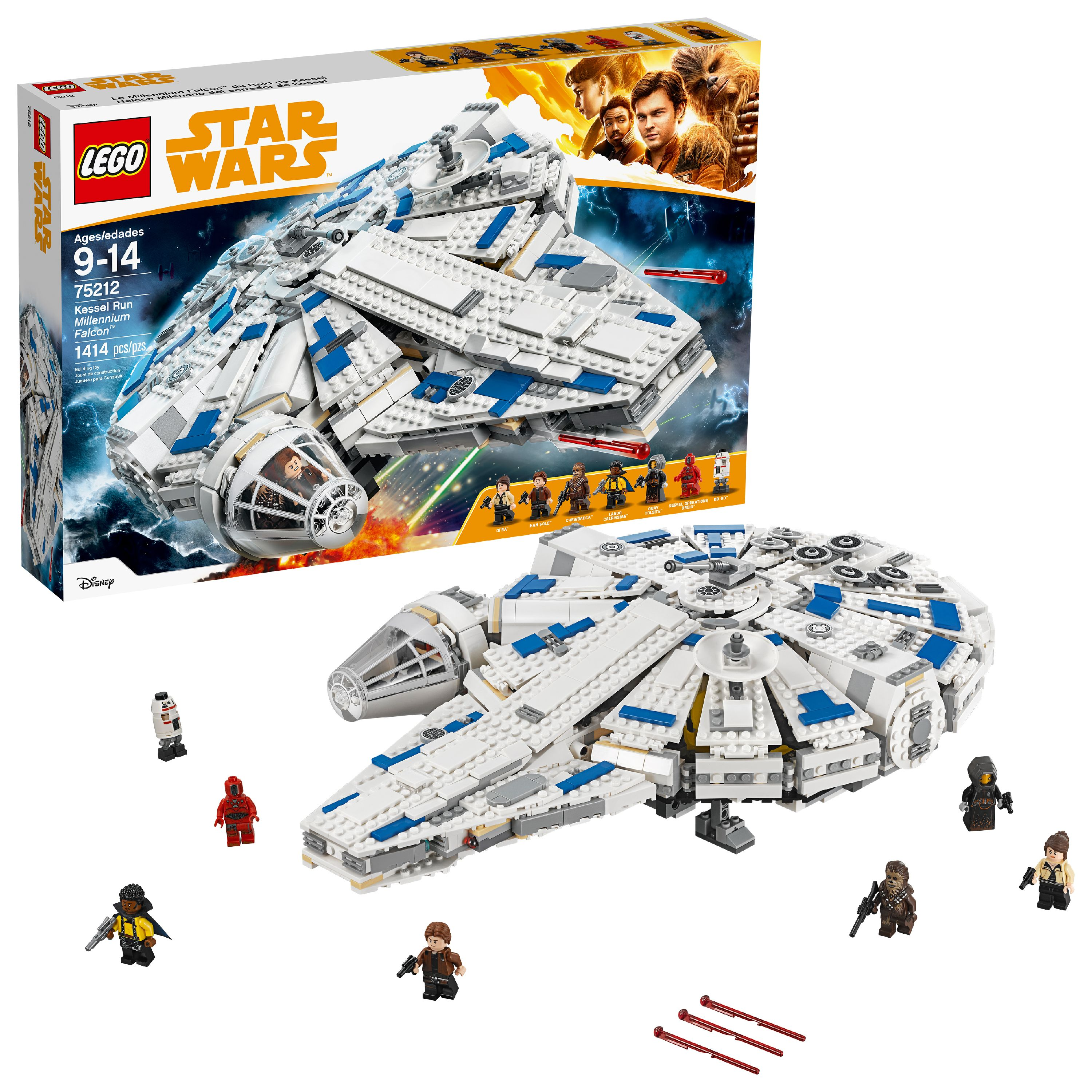 LEGO Star Wars TM Kessel Run Millennium Falcon 75212