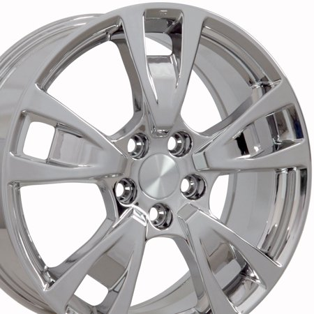 19x8 Wheels Fit Acura - TL Style Chrome Rims, Hollander