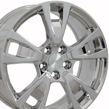 19x8 Wheels Fit Acura - TL Style Chrome Rims, Hollander 71788 (Acura Tl Steering Rack)