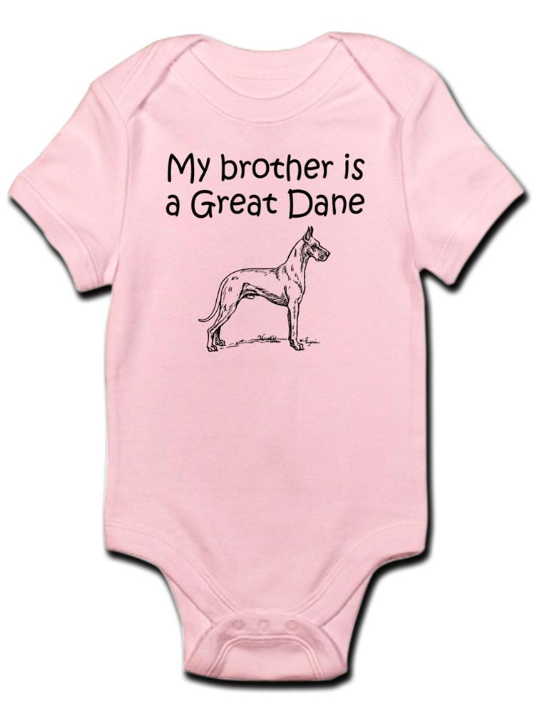 CafePress My Best Friend is A Great Dane T Organic Baby T