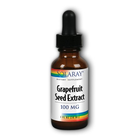Solaray Grapefruit Seed Extract 100mg Drops, 1 Fl Oz ()