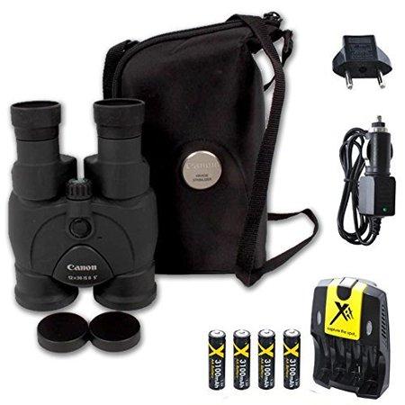 Canon 12x36 Image Stabilization Ii Binoculars Wcase Neck Strap