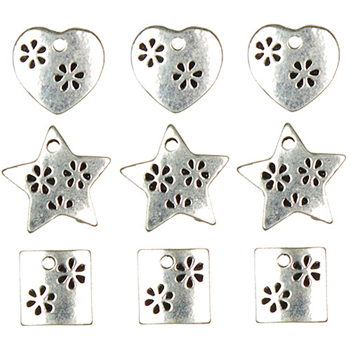 Jewelry Basics Metal Charms Gold Spikes 11//Pkg 016321088450