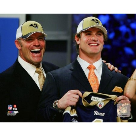 Howie Long   Chris Long 2008 Nfl Draft Photo Print