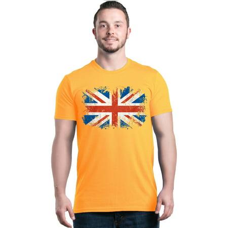 British Flag Shirts (Shop4Ever Men's Union Jack British Flag United Kingdom Graphic T-shirt )