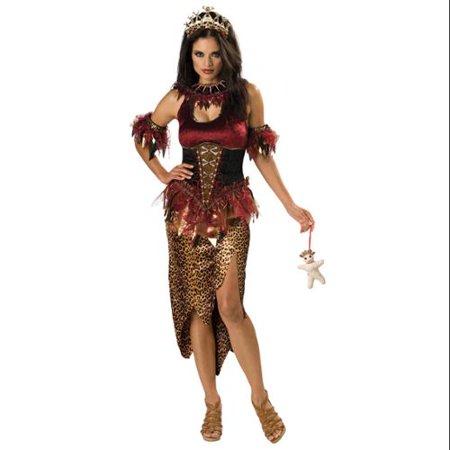 Voodoo Witch Priestess Designer Costume Adult
