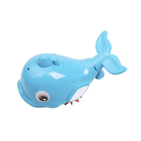 Cute Dolphin Baby Kids Bath Shower Toy Squirt Water Swimming Fish Pull Kids Toys - image 1 of 7