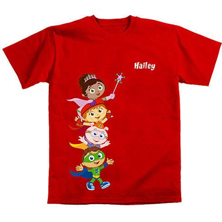65c55e55 Super Why! - Personalized Super Why! Hip Hip Hurray! Kids' T-Shirt - Walmart .com