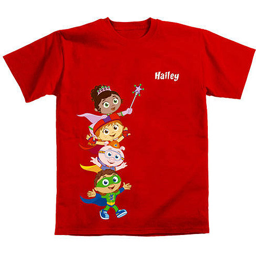 Personalized Super Why! Hip Hip Hurray! Kids' T-Shirt