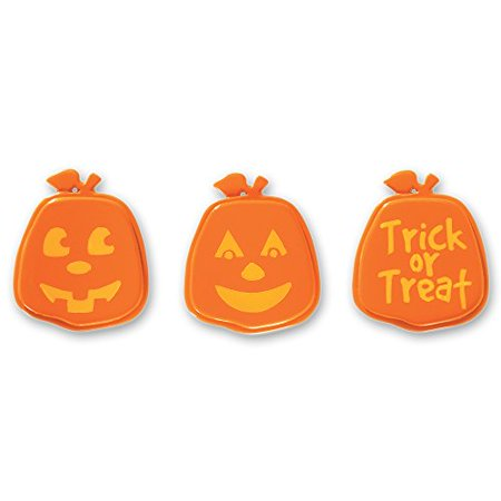 Pumpkin Face Cupcake Rings - 12 Count - National Cake