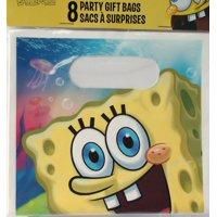 SpongeBob Squarepants 8 PARTY GIFT BAGS, By Designware