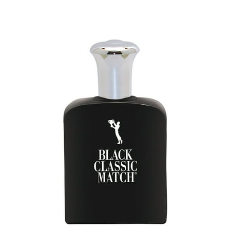 Black Classic Match, version of Polo Black*, by PB ParfumsBelcam, Eau de Toilette Spray for Men, 2.5 - One Match