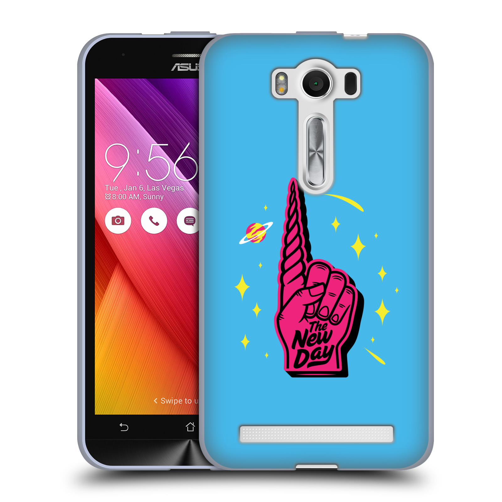 OFFICIAL WWE THE NEW DAY SOFT GEL CASE FOR ASUS ZENFONE PHONES