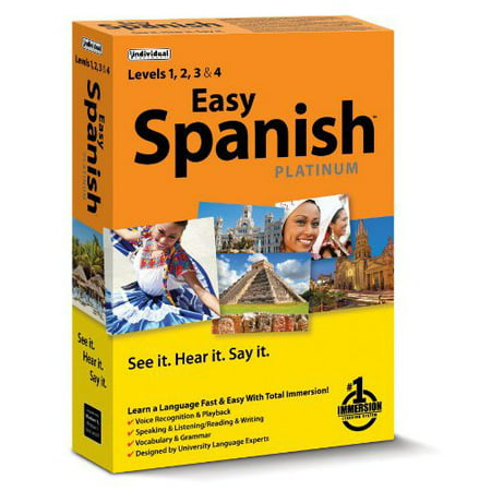 - Easy Spanish Platinum Total Immersion, Individual Software, 018527105160