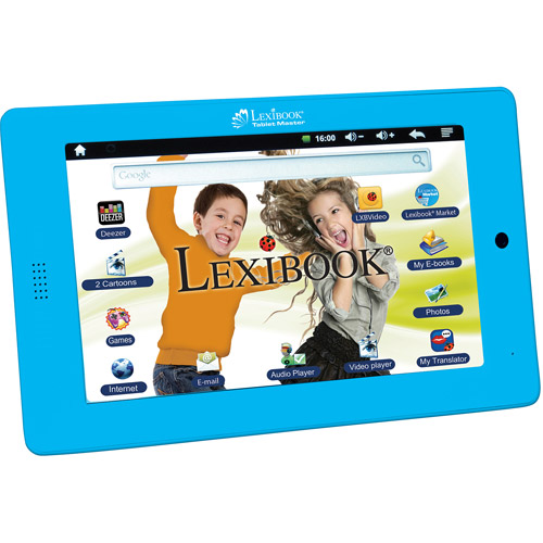 Lexibook�� Tablet Master, English Version, 7""