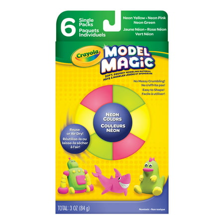 Crayola Model Magic, Neon Colors Set