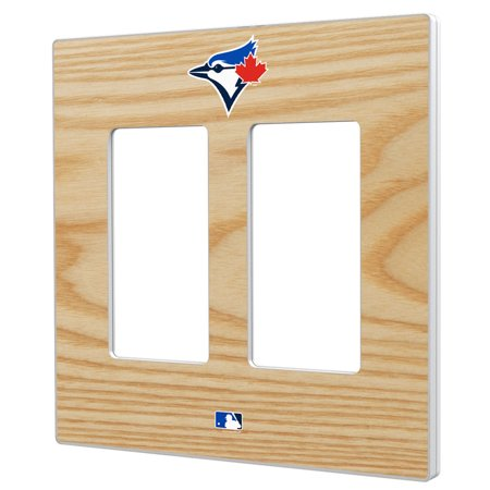 Toronto Blue Jays Baseball Bat Design Double Rocker Light Switch Plate - No Size](Baseball Clearance Outlet)