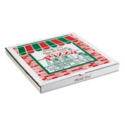 Arvco Containers ARV9244393 Corrugated Pizza Boxes, White - 24 in. - 25 Per Carton