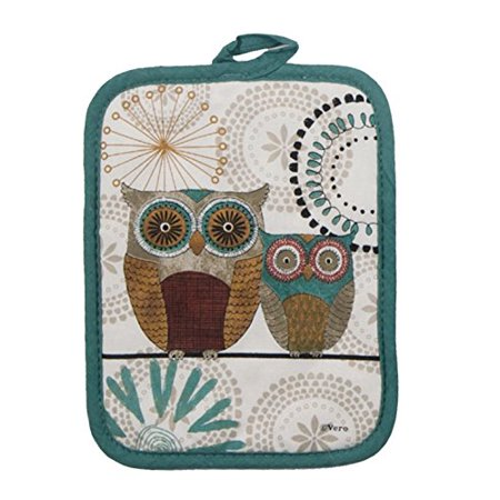 Kayo Designs - Kay Dee Designs R3442 Spice Road Owl Potholder