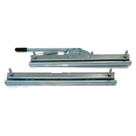 Adjustable SLIDE TRACK KIT for Milsco High Back Seat 420179 420183 420282 420360 by The ROP Shop