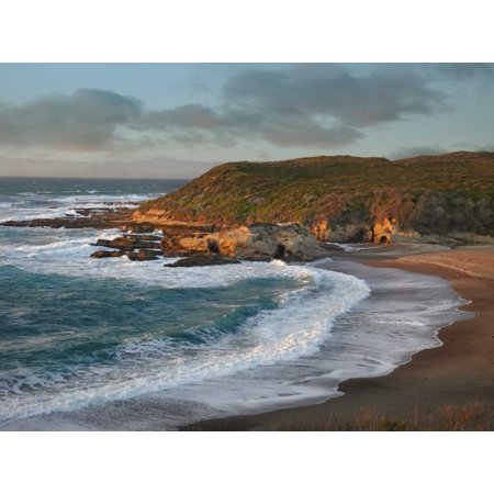 Spooners Cove Montano de Oro State Park California Poster Print by Tim (Cagayan De Oro Map In The Philippines)
