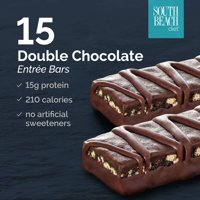 South Beach Diet Double Chocolate Entree Bars, 1.8 Oz, 15 Ct