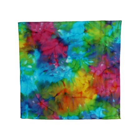 Multi Color Pastel (Size one size Pastel Batik Bandana, Multi-Color )