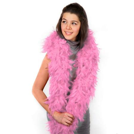 Pink Boa Halloween Costume Accessory (Pink Boa)