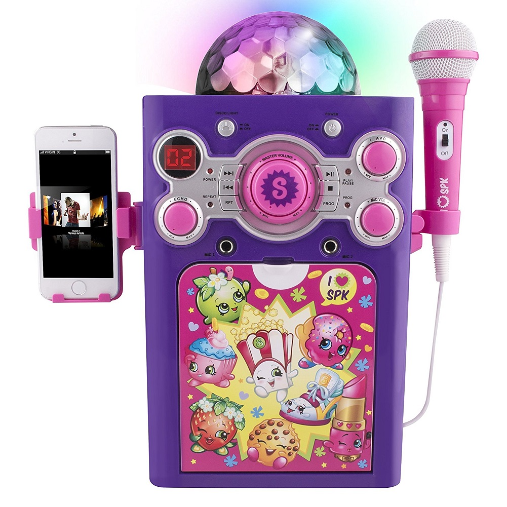 Shopkins Disco Ball Karaoke Machine by Sakar International