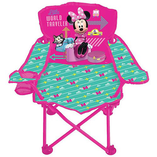 Disney Minnie Mouse Jet Set Fold 'N Go Chair